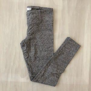 TAULA Light Gray Marled Leggings